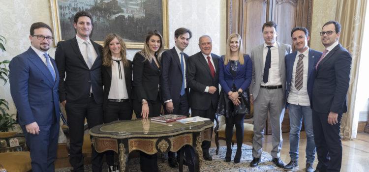 Visita dal Presidente del Senato Pietro Grasso – Roma 04/04/2017